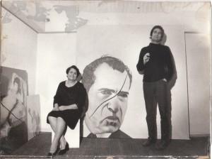 Giovanna Morabito Battaglia, col figlio Xante Battaglia) 1974