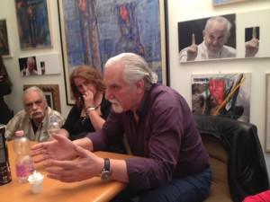 Il Critico Lorenzo Bonini alla Mostra del Maestro Xante Battaglia