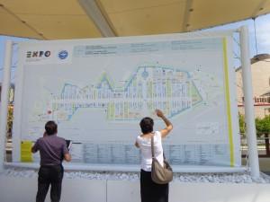 EXPO - La mappa