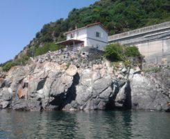 VILLINO SUGLI SCOGLI ad Arenzano in provincia di Genova